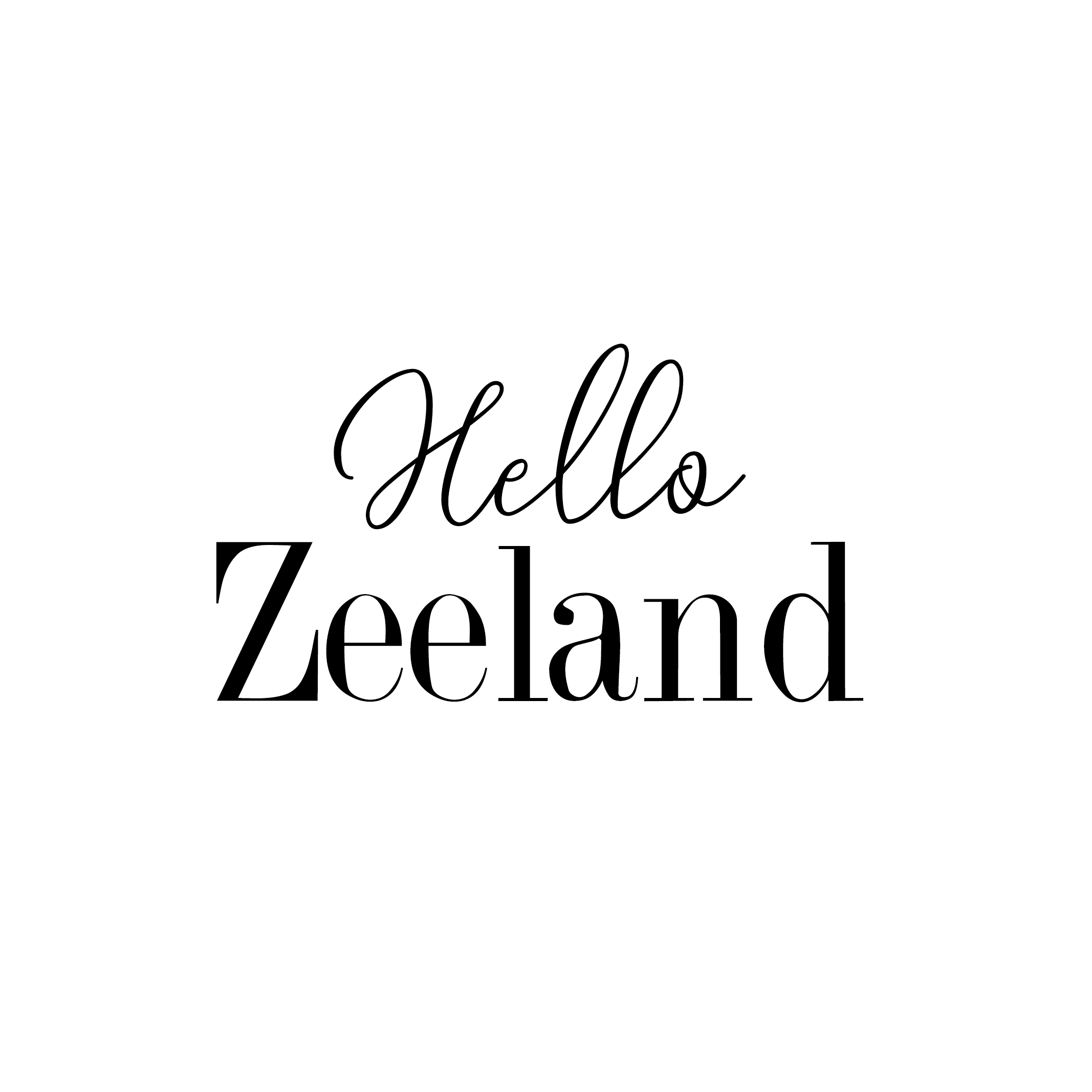 Hello Zeeland